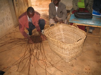 Weaving basket2
